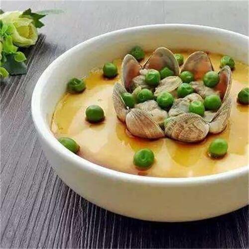 文蛤豌豆炒鸡蛋