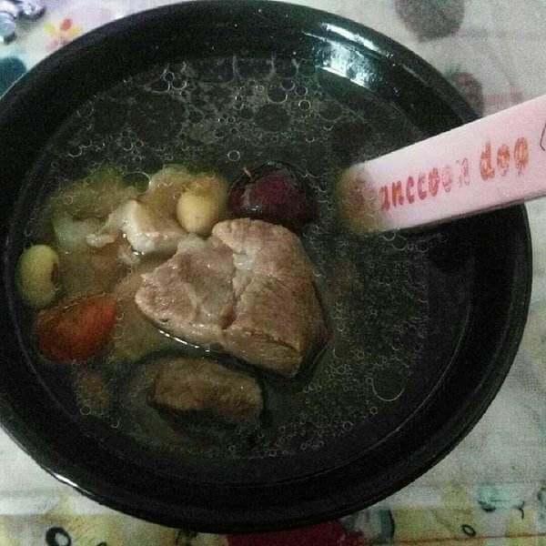 猪蹄山药红枣汤