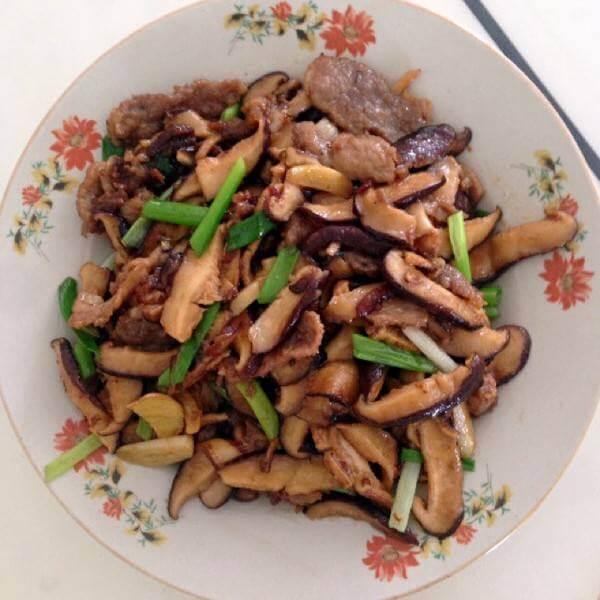 香菇炒千张