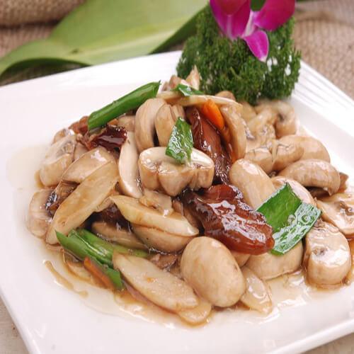 懒人版-蘑菇炒麻什