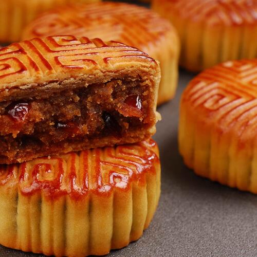 双合酥什锦月饼