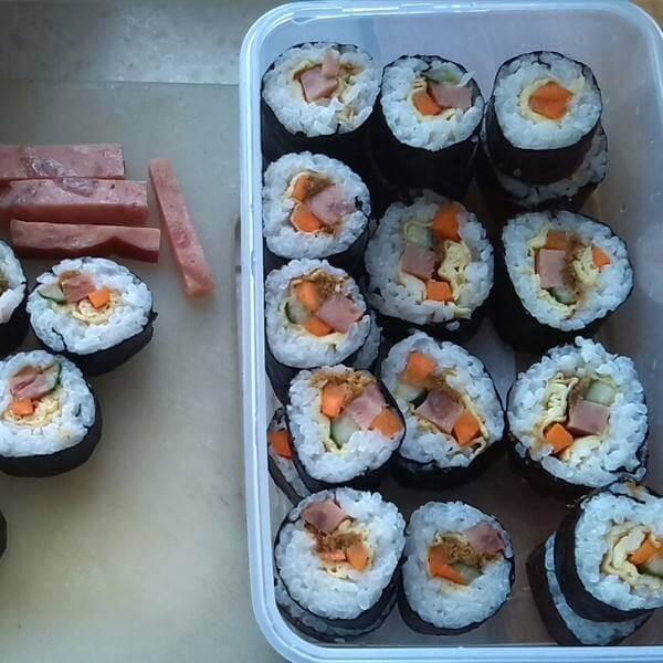 鱼籽蛋皮寿司
