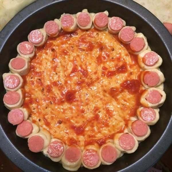 简易版吐司片披萨
