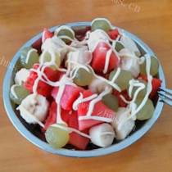 甜天麦水果沙拉