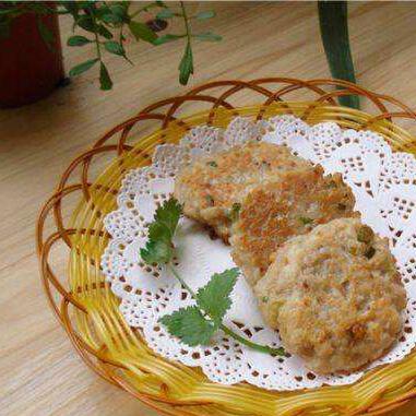 莲藕马蹄饼