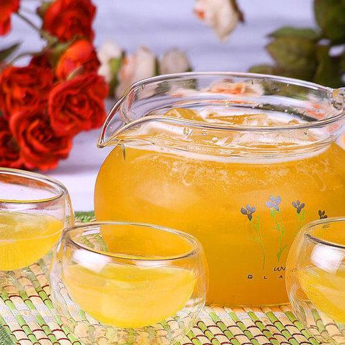 适合团圆派对上的香艳饮品—洛神花果茶