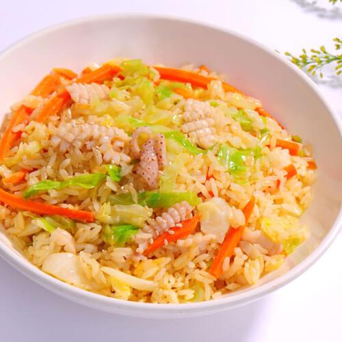 虾油海带炒饭