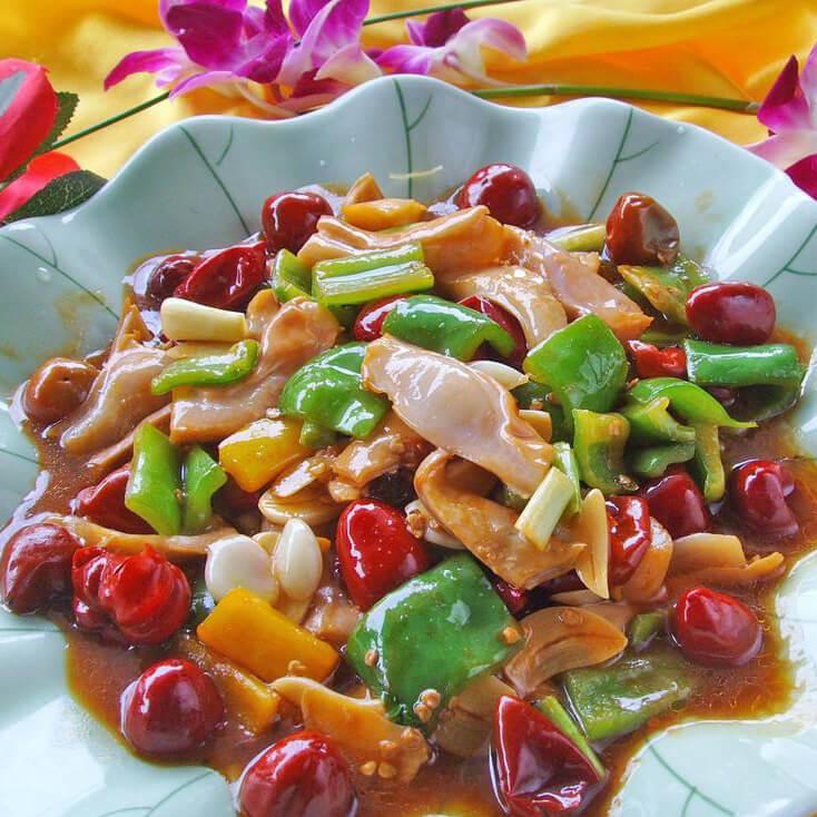 泡椒酸菜炒猪肚