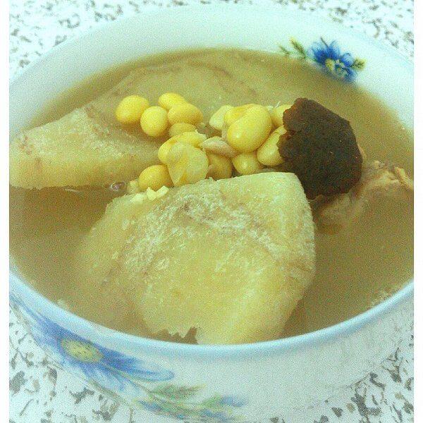 粉葛猪骨头汤