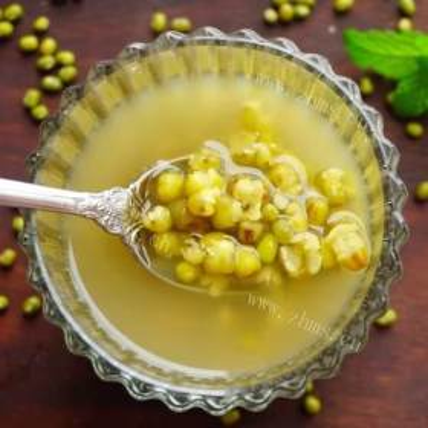 果果绿豆汤
