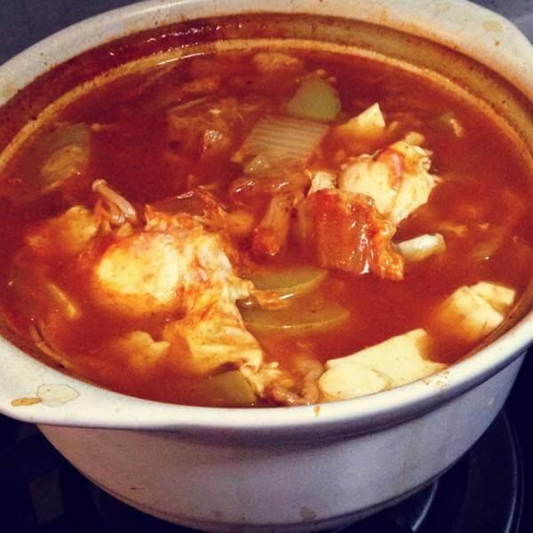 咸香可口的榨菜葫芦汤