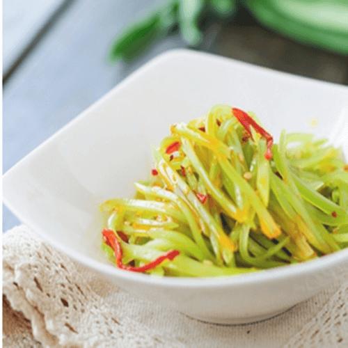 莴苣小咸菜