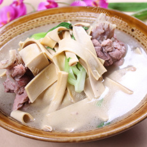 香喷喷的大头菜炖干豆腐
