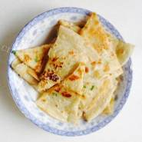 虾皮豆渣煎饼