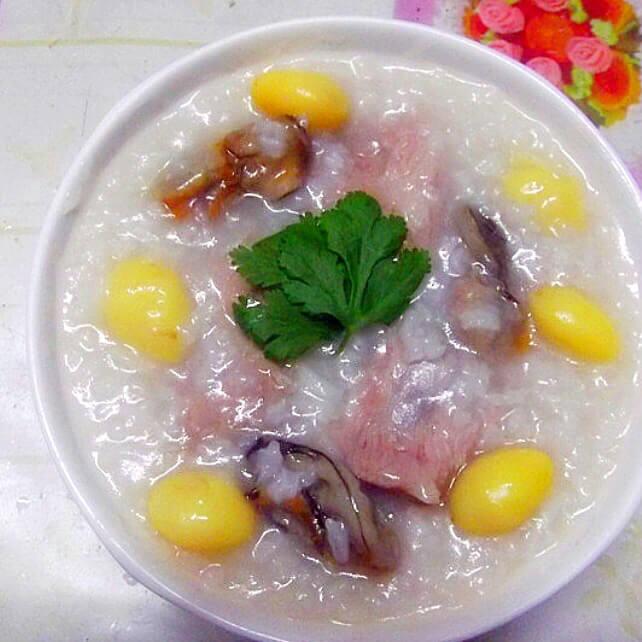 白果蚝豉排骨粥