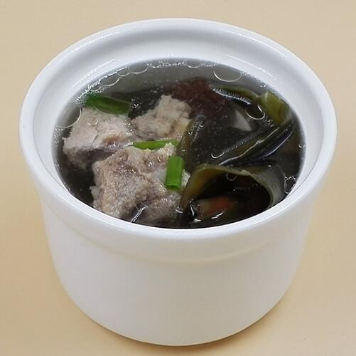 海带排骨薏米汤