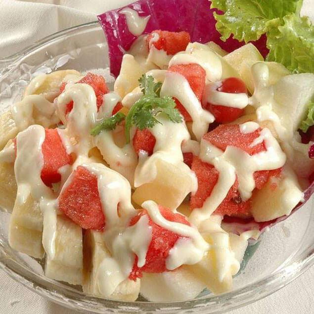 清肠水果沙拉