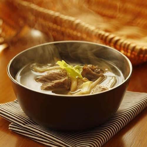 排骨剑花汤