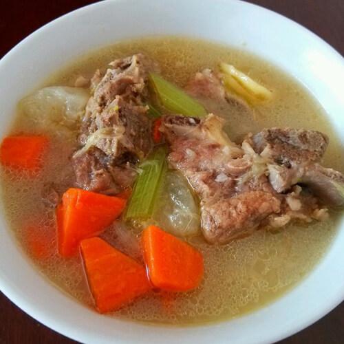 营养淮山煲猪骨汤