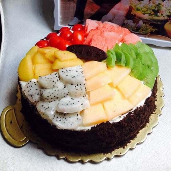 露露戚风蛋糕