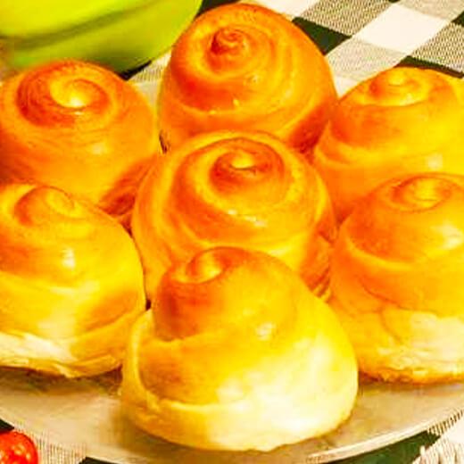 橙香蜂蜜小面包