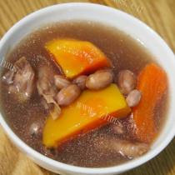 花生木瓜汤