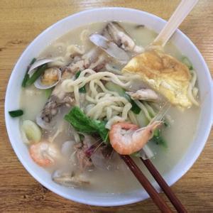 韩式海鲜面