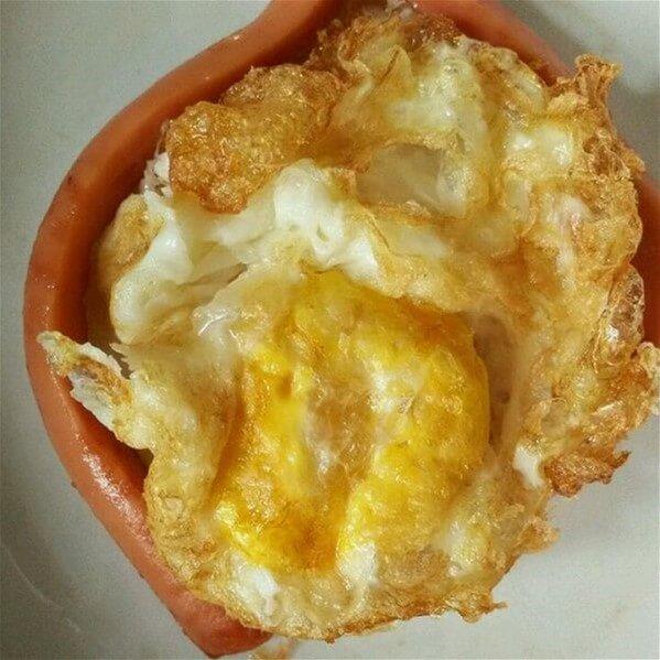 糖醋香肠煎鸡蛋