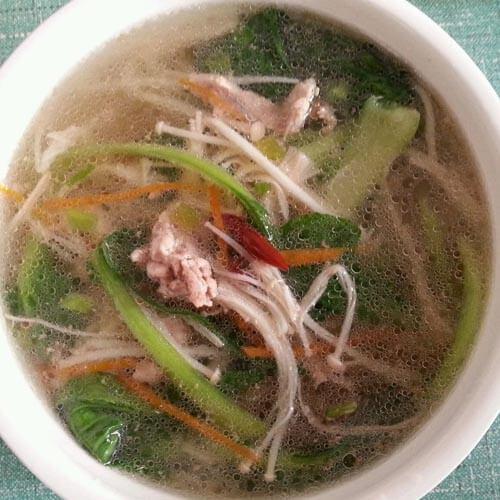 简单版-海带瘦肉汤