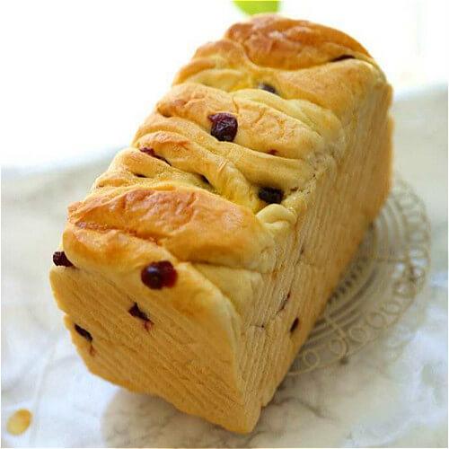 面包机版蔓越莓奶香吐