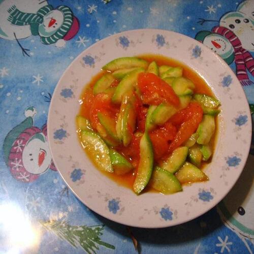 绿番茄西葫芦