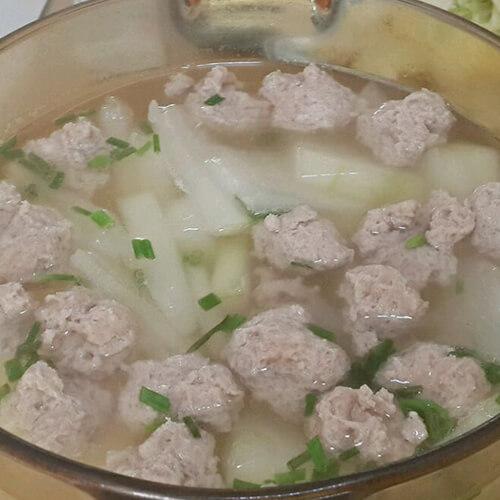 家常的冬瓜薏仁瘦肉汤