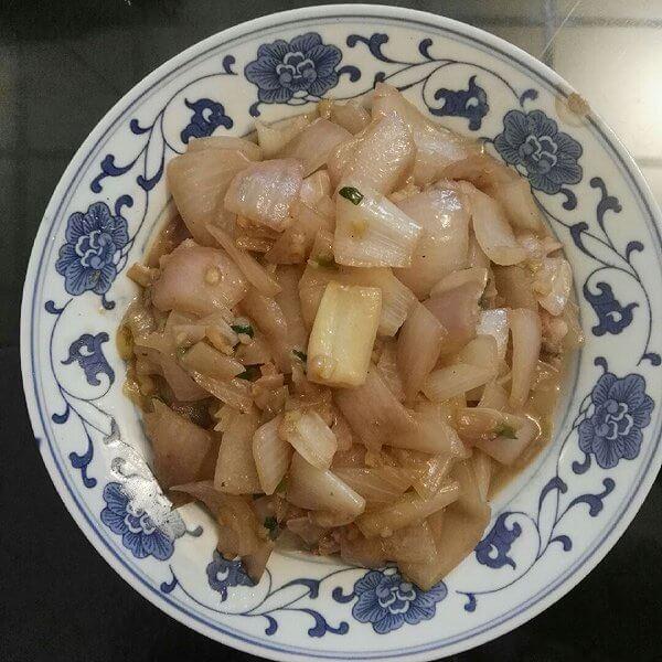 洋葱炒文蛤