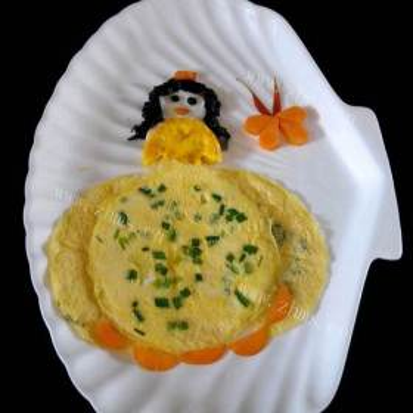 韭菜炒鸡蛋生煎包