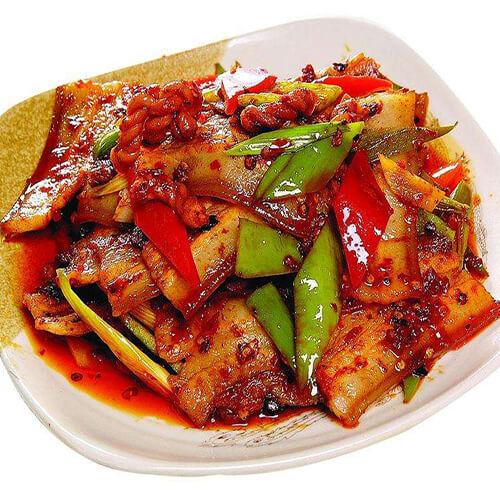 白菜香菇胡萝卜炒肉