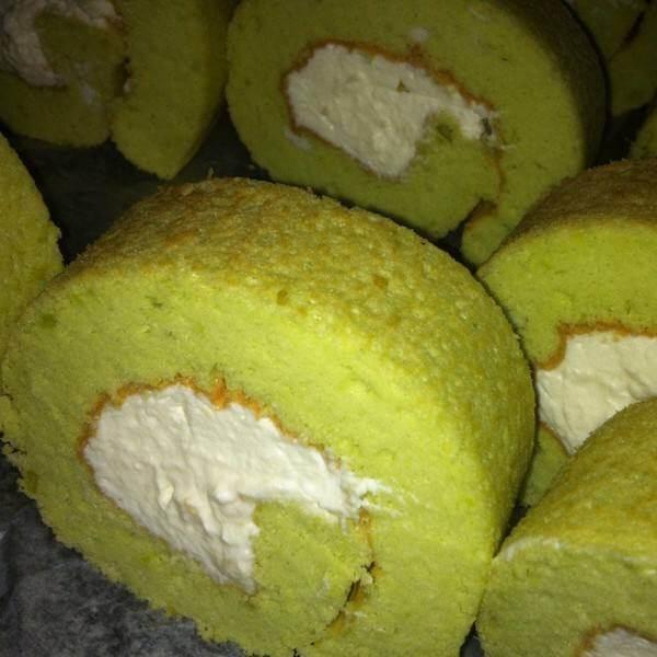 香兰叶蛋糕卷
