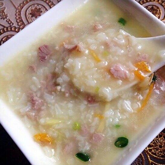 蚝鼓虾米瘦肉粥