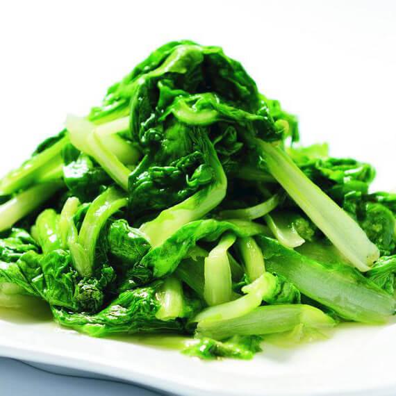 清炒白毛菜