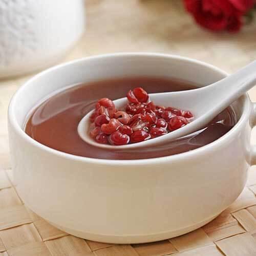 红豆绿豆薏米糖水