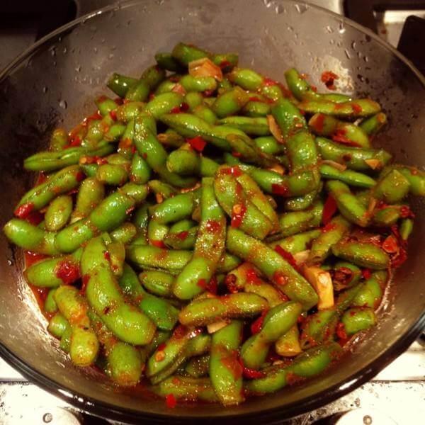 五香辣毛豆