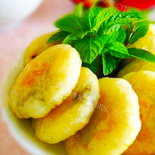土豆黑芝麻饼
