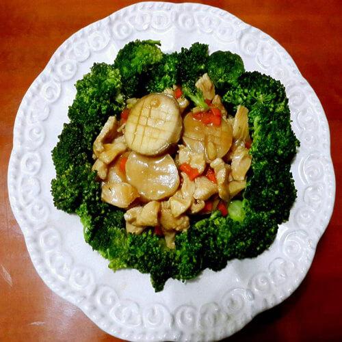 白果胡萝卜炒红薯