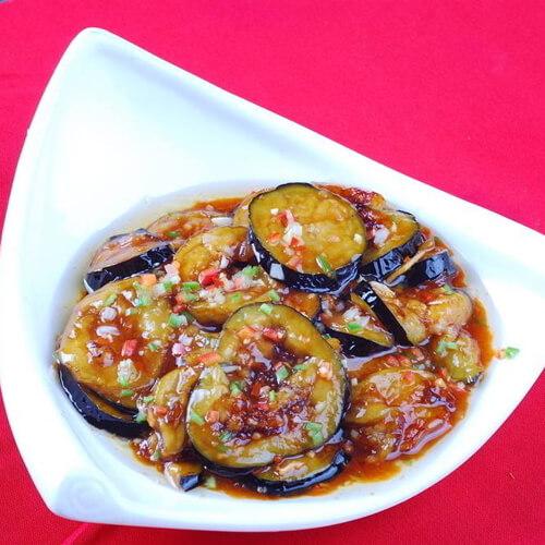 美味的醋焖杭茄