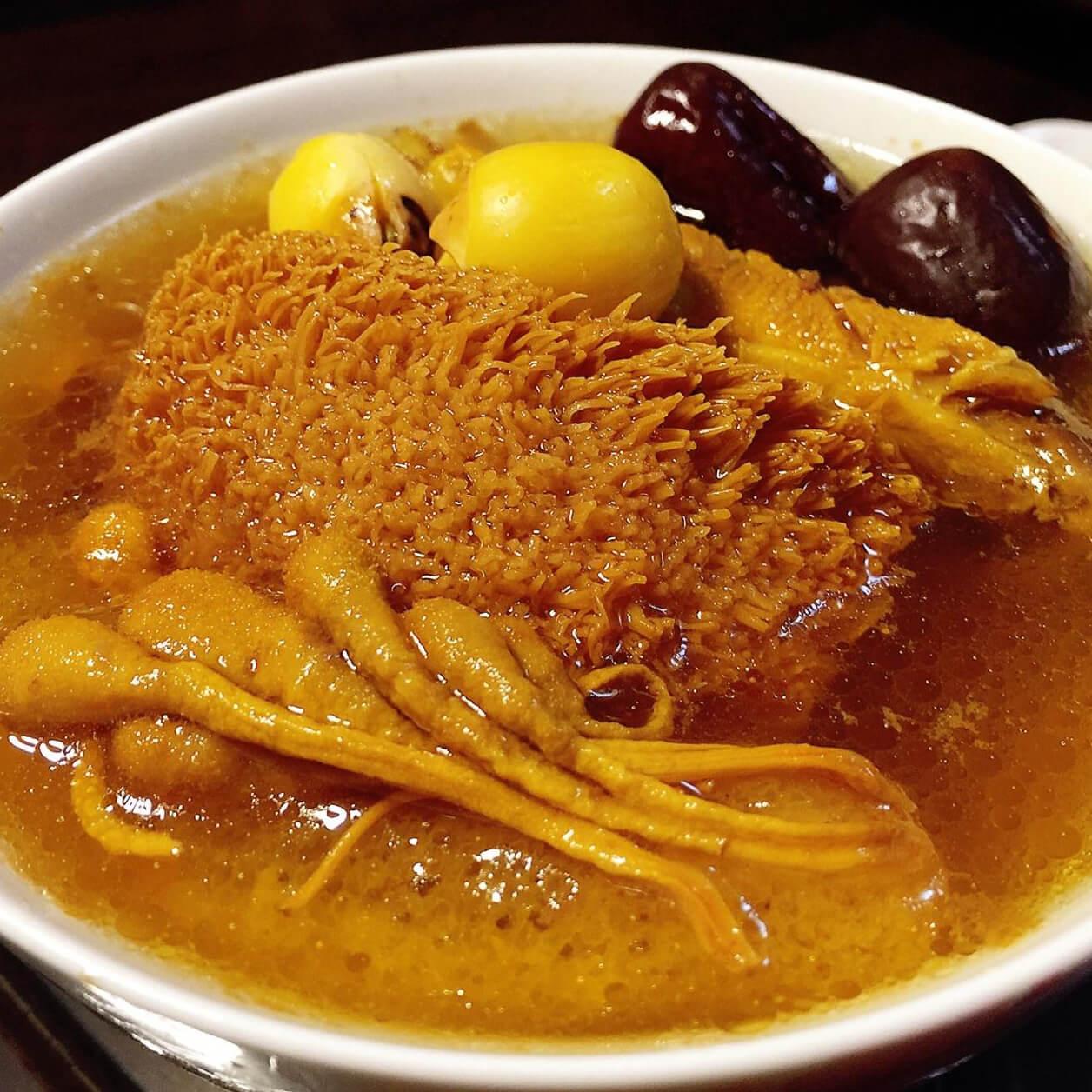 猴头菇虫草汤
