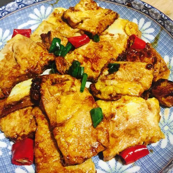 番茄煮滑豆腐