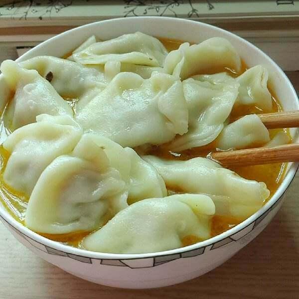 老边香菇煮饺