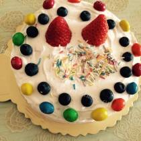 法式风味糖戚风蛋糕