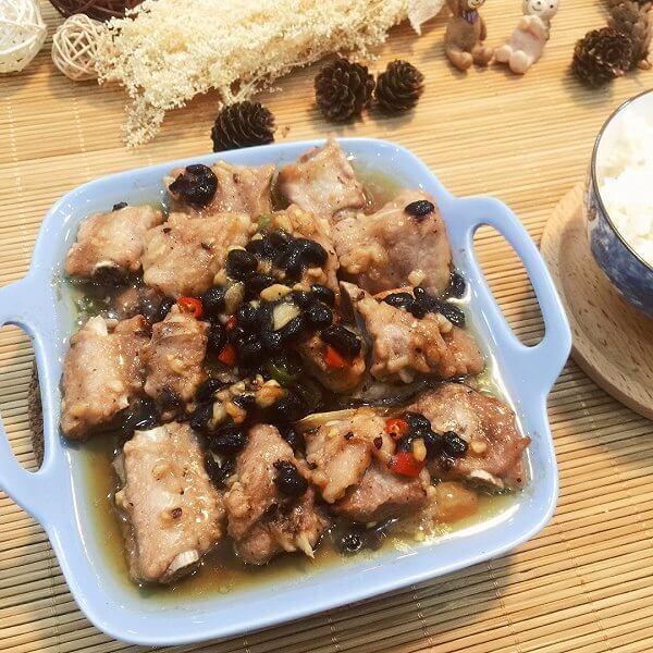 普洱茶蒸排骨