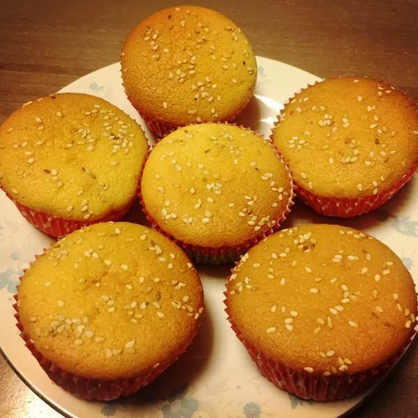 #营养美食#蜂蜜小蛋糕