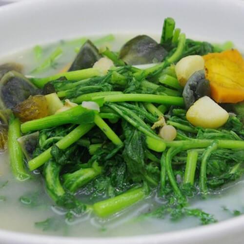 西洋菜素汤